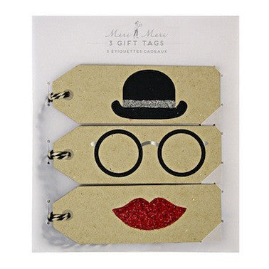 Bowler Hat Gift Tags