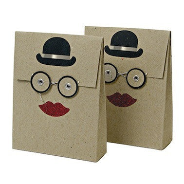 Bowler Hat Mini Envelopes