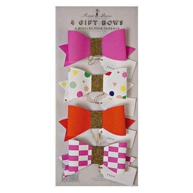 Toot Sweet - Pink & Orange Bows