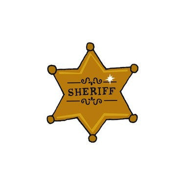 Sheriff Badge Tattoos