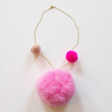 Rabbit Fur Necklace