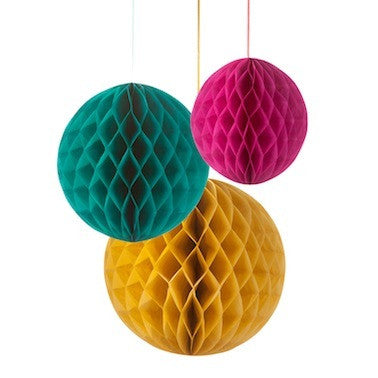 Floral Fiesta - Honeycomb Decorations