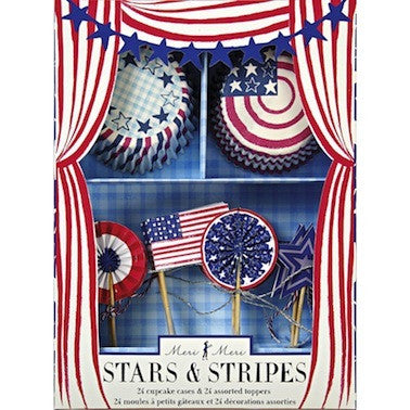 Stars & Stripes Cupcake Kit