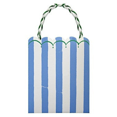 Toot Sweet - Blue Stripe Party Bags
