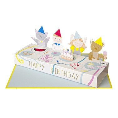 Party Table Birthday Card