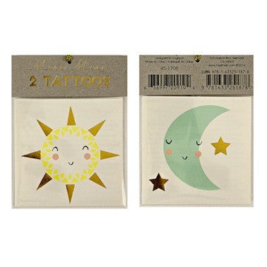 Sun & Moon Tattoos