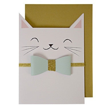Smiling Cat Card