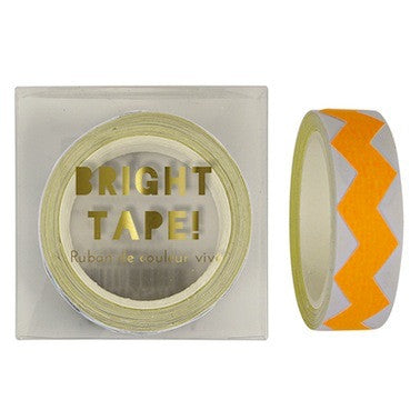 Orange Chevron Tape