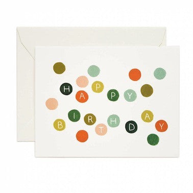 Birthday Dots Card