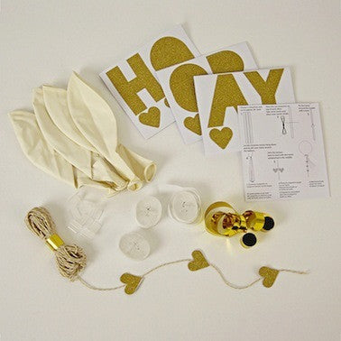 White Balloon Kit