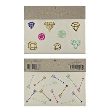 Gems & Arrows Tattoos
