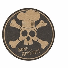 'Bone Appétit!' Stickers