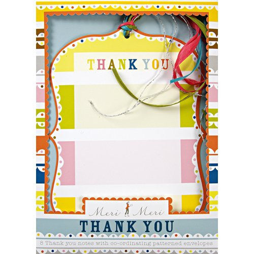 Happy Birthday - Thank You Notes
