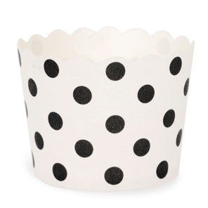 Black Spots Baking Cups