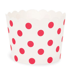 Red Spots Baking Cups