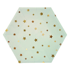 Jazzy Stars Party Plates