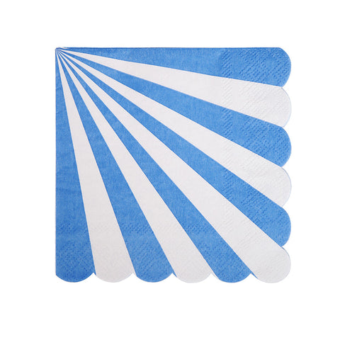 Blue Stripe Napkins