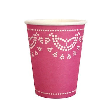 Candy Pink Paper Cups