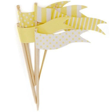 Limoncello Flags Toppers