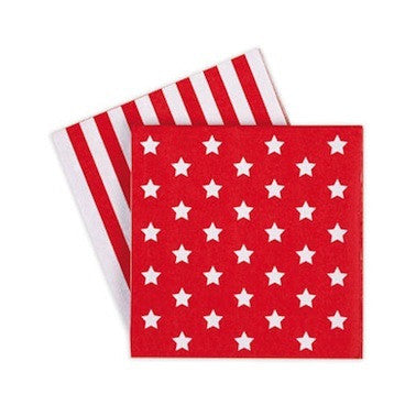 Candy Cane Paper Napkins