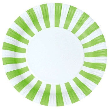 Apple Green Paper Plates