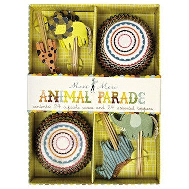 Animal Parade Cupcake Kit