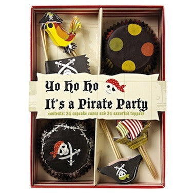 Pirate Cupcake Kit