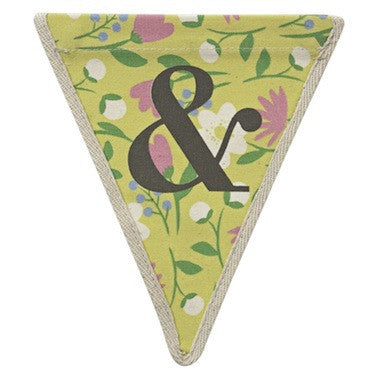 Ampersand - floral pattern multi