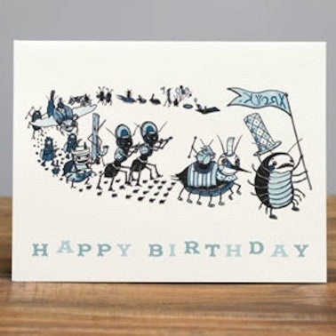 Bug Parade Card