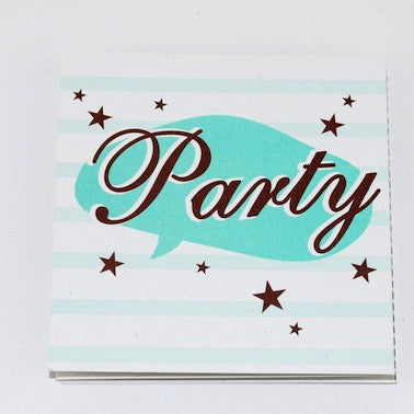 Starry Party Invitations