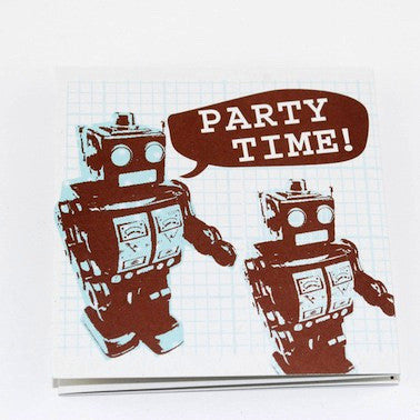Robots Party Invitations