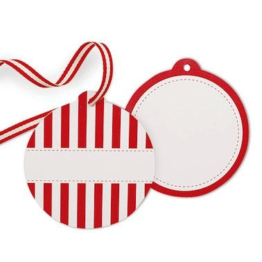 Candy Cane Favor Tags