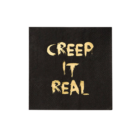 Creep It Real - Napkins