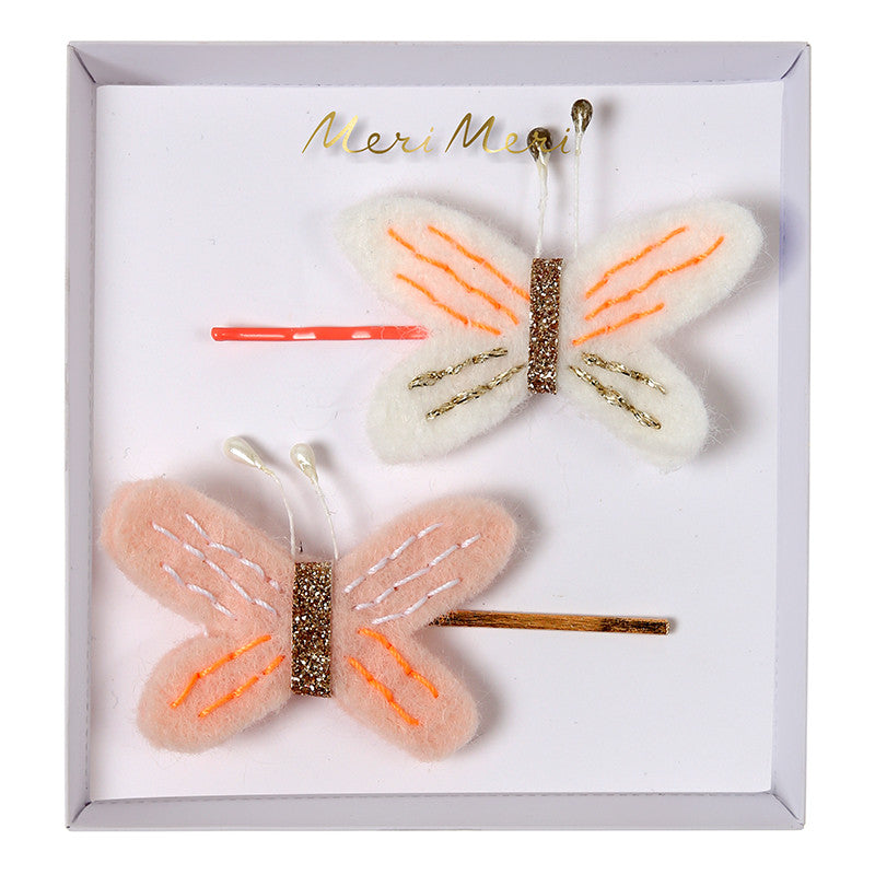 Butterfly Hair Pins