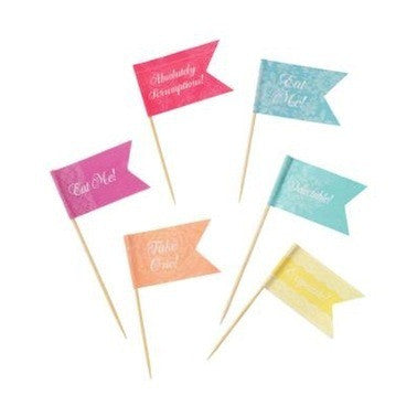 Truly Scrumptious - Canapé Flags