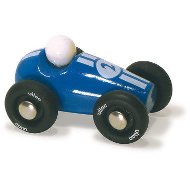 Blue Mini Race Car