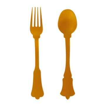 Cake Fork - Old Fashioned, Orange
