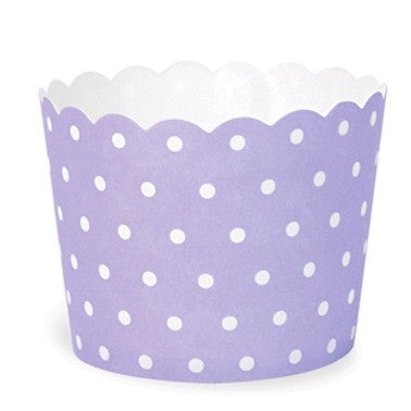 Lilac Berry Spots Baking Cups