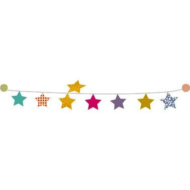 Garland Kit - Multicolor Stars