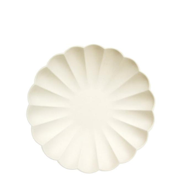 Cream Simply Eco Small Plates