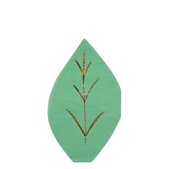 Green Leaf Napkins