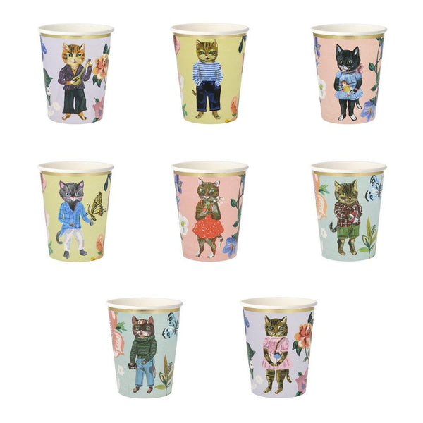 Nathalie Lété Flora Cat Party Cups