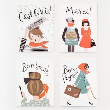 Assorted French Cards