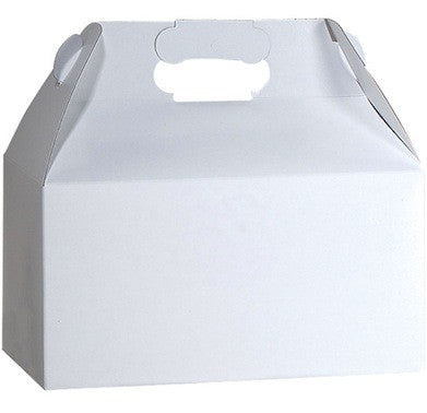 White Gable Box