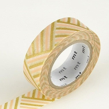 Masking Tape Single Roll - Corner Peach