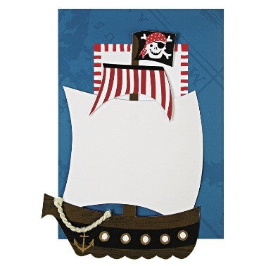 Pirate Ship Invite