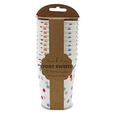Toot Sweet -  Spotty Cups