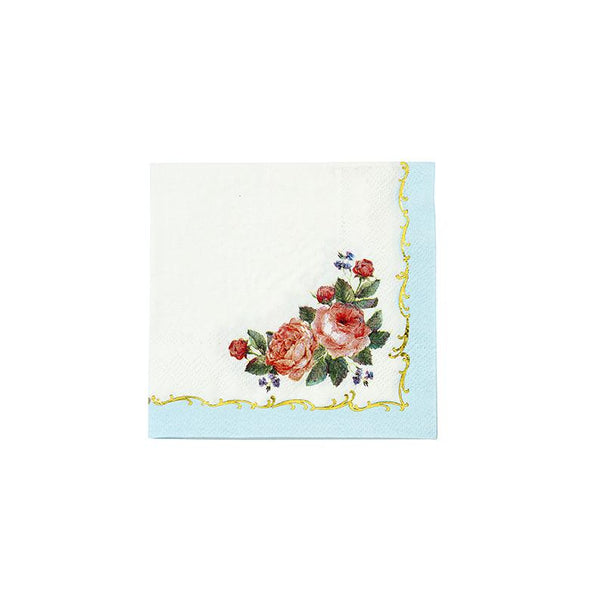 Dainty Chintz Cocktail Napkins