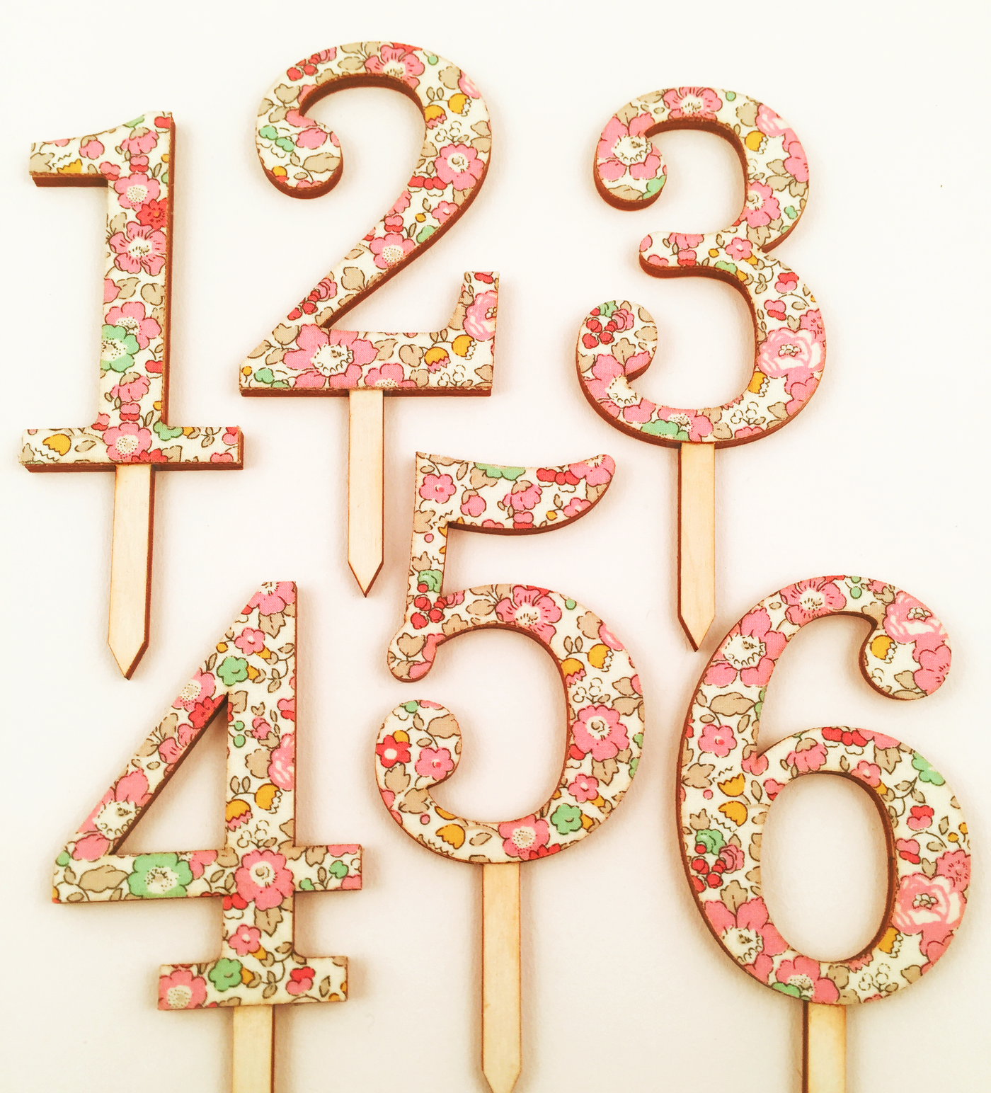 Liberty of London Number Cake Topper