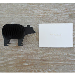 'You're Beary Special' Honeycomb card